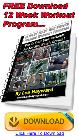 FREE 12 Week Workout Program Download