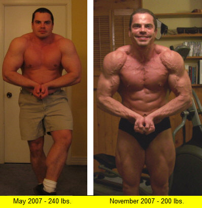 Lee Hayward's Before & After Transformation