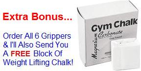 Get A FREE Block Of Weight Lifting Chalk
