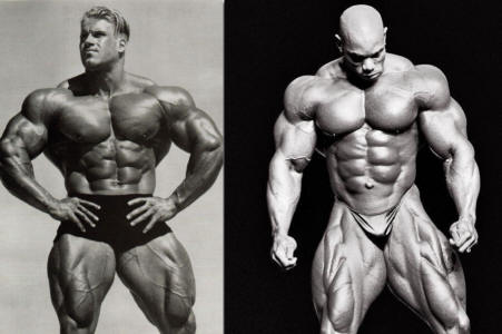 Jay Cutler & Flex Wheeler