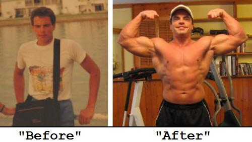 Lee Hayward's Before and After Pictures