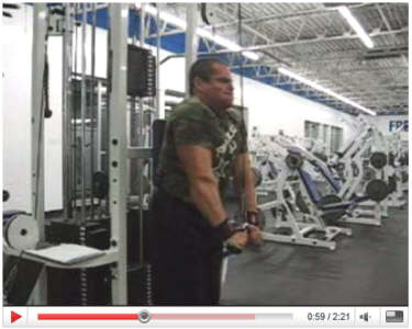 Lee Hayward's YouTube Bodybuilding Workout Video Clips