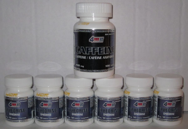 ephedrine and caffeine eca stack