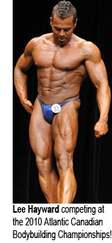 Lee Hayward - 2010 Atlantic Canadian Bodybuilding Championships