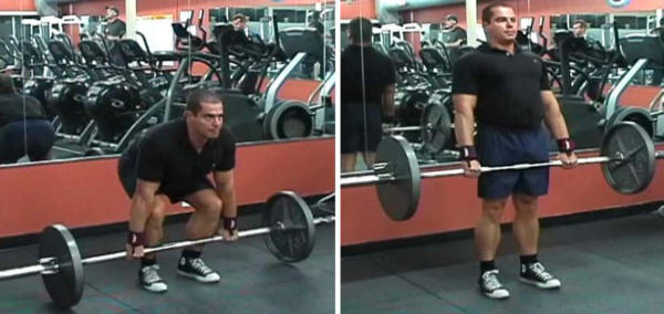 Close Stance Conventional Deadlift