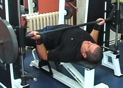 Smith Machine Bench Press