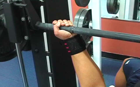 Reverse Grip Smith Machine Bench Press