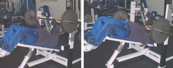 decline bench press picture