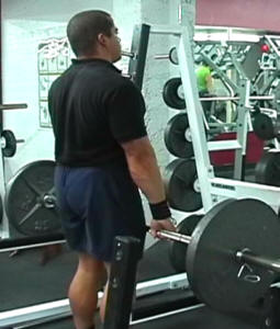 Barbell Shrugs