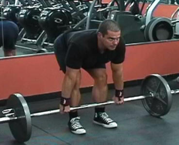 Stiff Leg Deadlifts