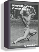 Drug Free Bodybuilding Contest Training