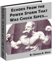 Chuck Sipes one bodybuilding's greatest legends