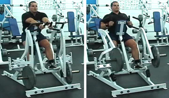 Hammer Strength Seated Row