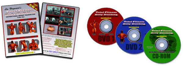 Total Fitness Bodybuilding DVD Training System!