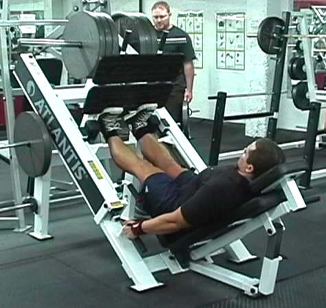 toe raise machine