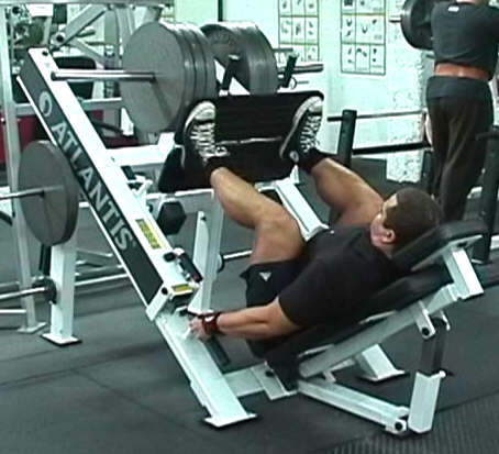 Machine Press Workout Leg Press Machine