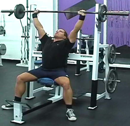 Image result for Barbell Shoulder Press