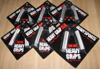 Heavy Grips Hand Grippers - The Ultimate Grip Training Tool