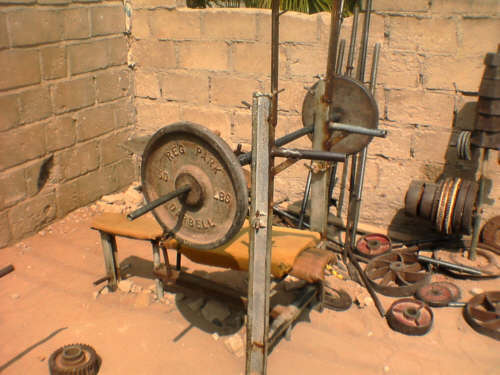 Home Made Bench Press