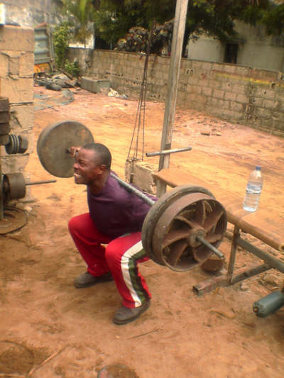 Ramalho Henrique's Hardcore Bodybuilding Gym In Africa