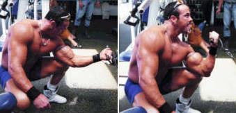 1 arm cable curl