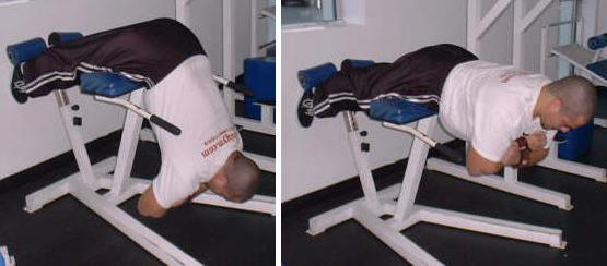 hyper extensions are a great lower back exercise