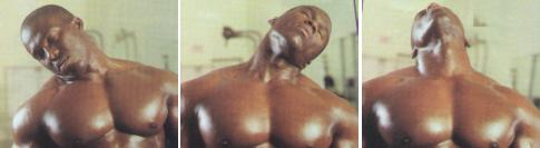 Warm up exercises for the neck