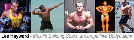 Lee Hayward - Your Muscle Building Coach!