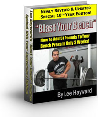Blast Your Bench - How To Add 51 Pounds To Your Bench Press!