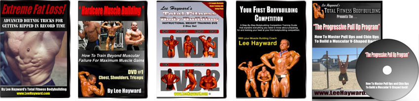 Click Here To Check Out Lee's Full Line Of Muscle Building DVD's