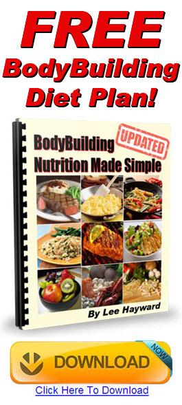 Download Your FREE Bodybuilding Diet Plan