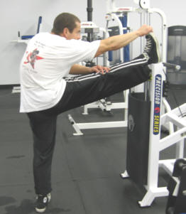 hamstring stretch exercise