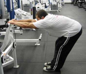 back stretch exercise