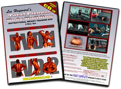 Total Fitness Bodybuilding Video Workout DVD - Now Available!