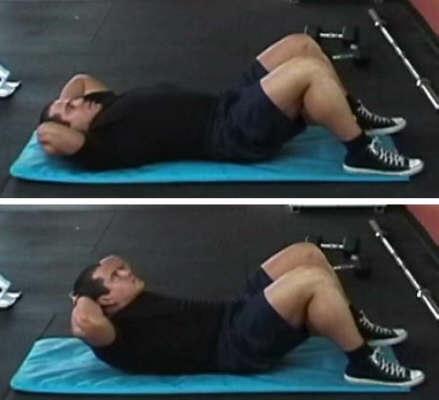 abdominal crunch picture