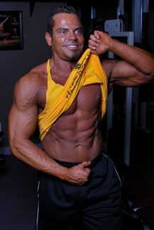 Lee Hayward Six Pack Abs!